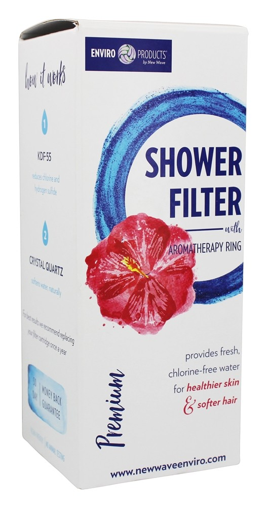 buy new wave enviro products premium shower filter at. Black Bedroom Furniture Sets. Home Design Ideas
