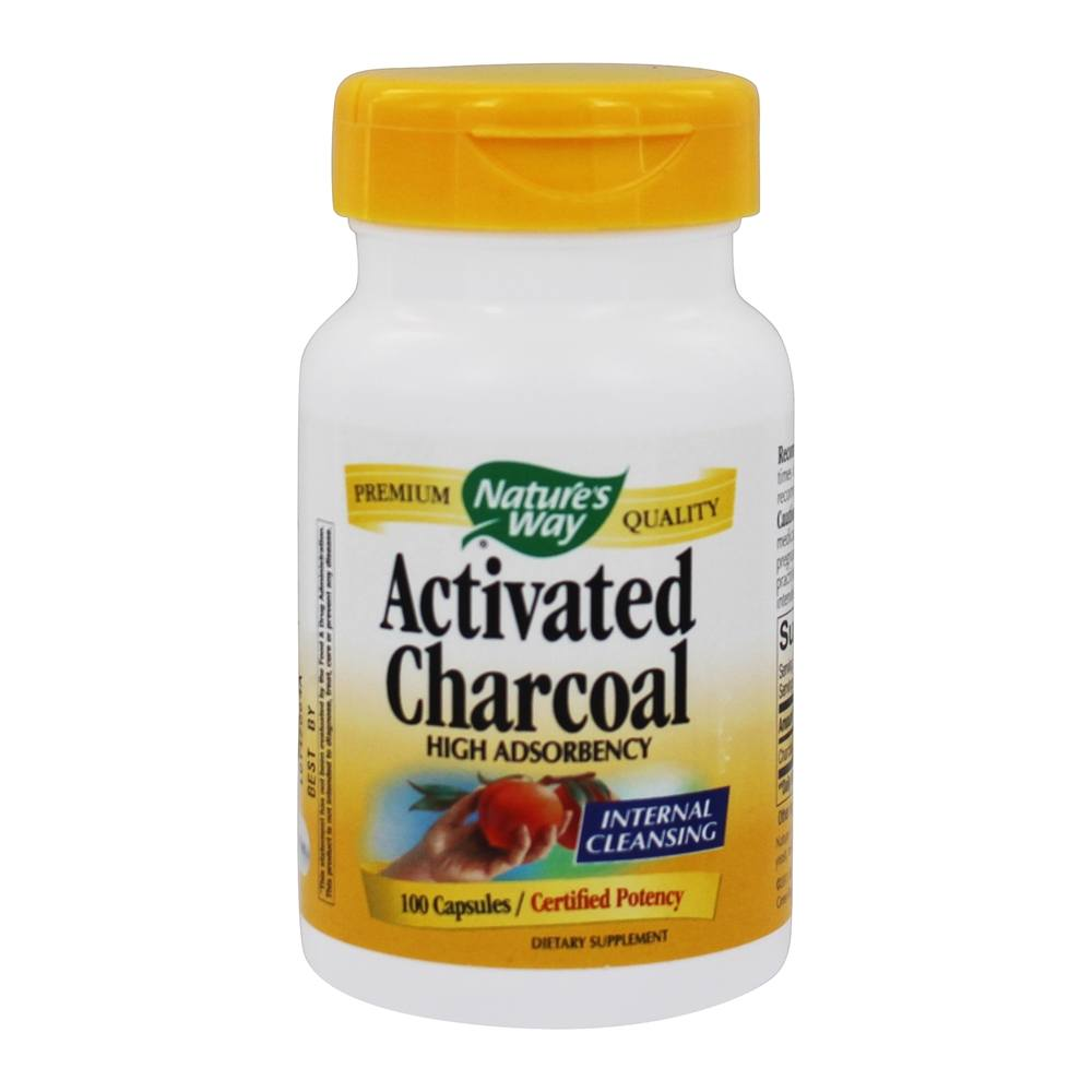 Nature S Way Activated Charcoal Canada