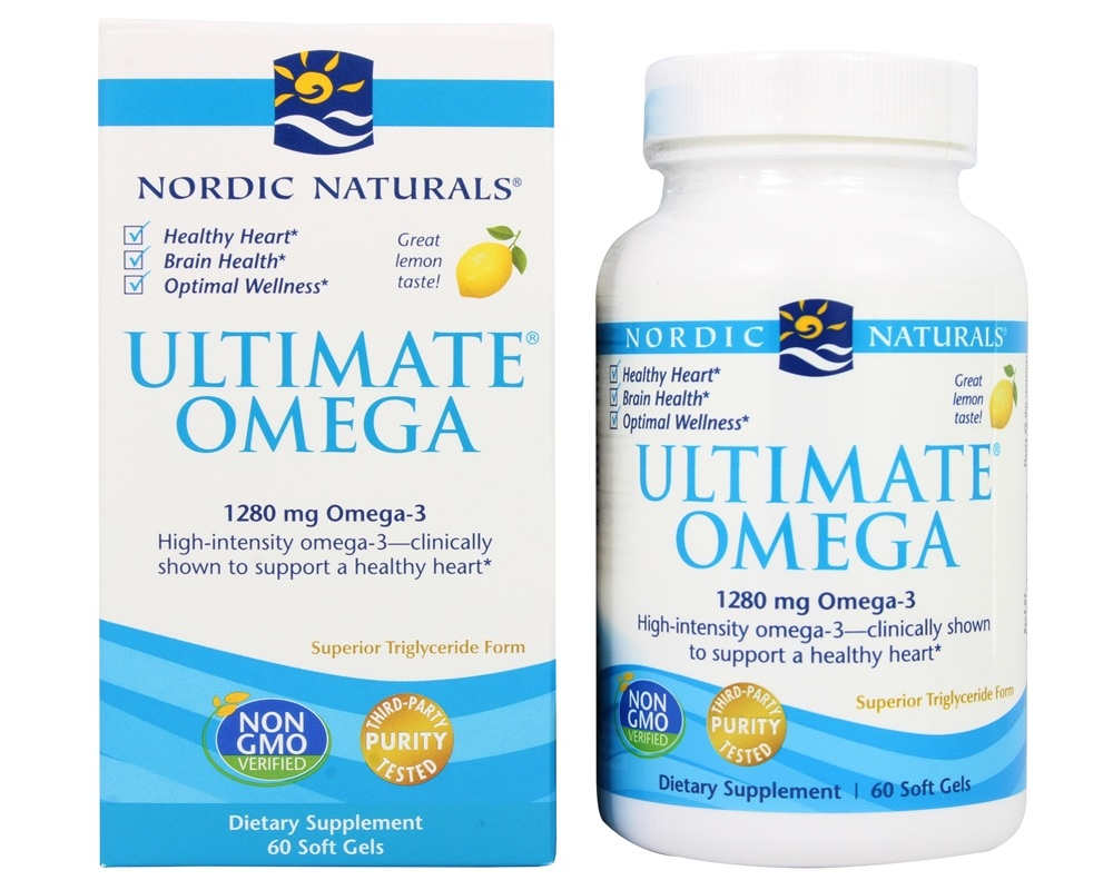 Nordic Naturals Omega  Purified Fish Oil Lemon