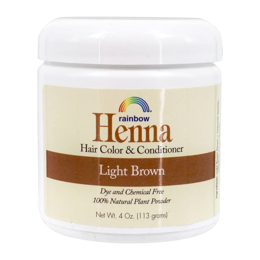 Buy Rainbow Research Henna Persian Hair Color Light Brown 4 Oz