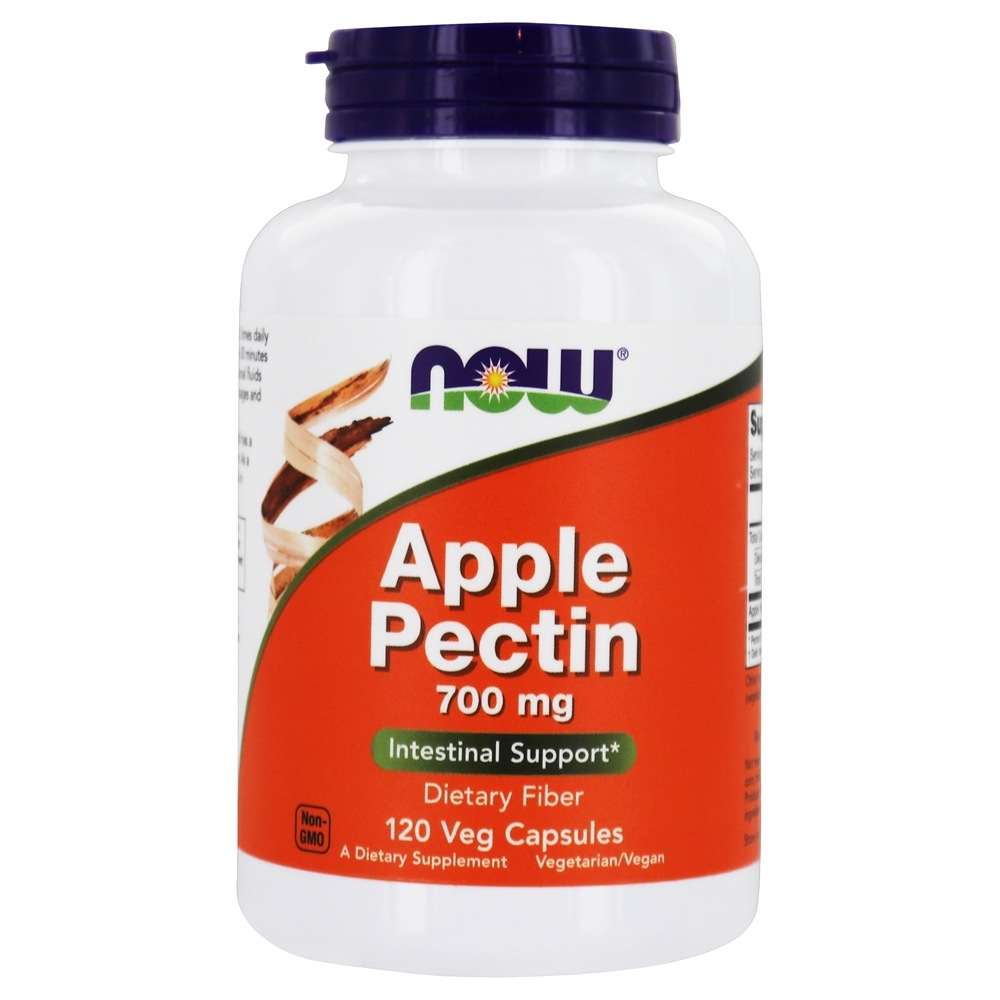 Buy Now Foods Apple Pectin 700 Mg 120 Capsules At