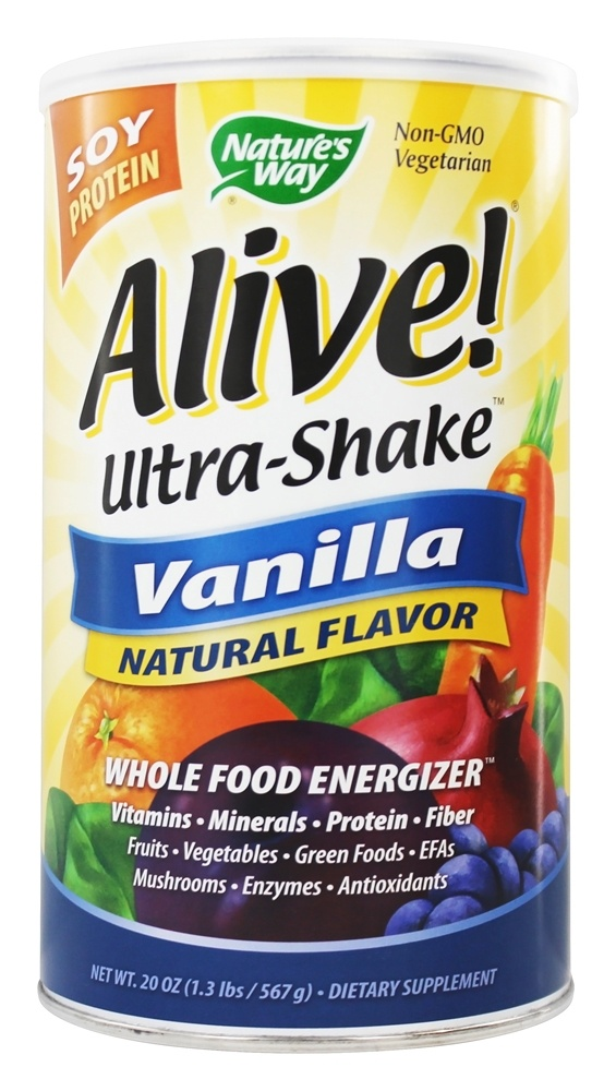 Alive Whole Food Energizer Ultra Shake Reviews