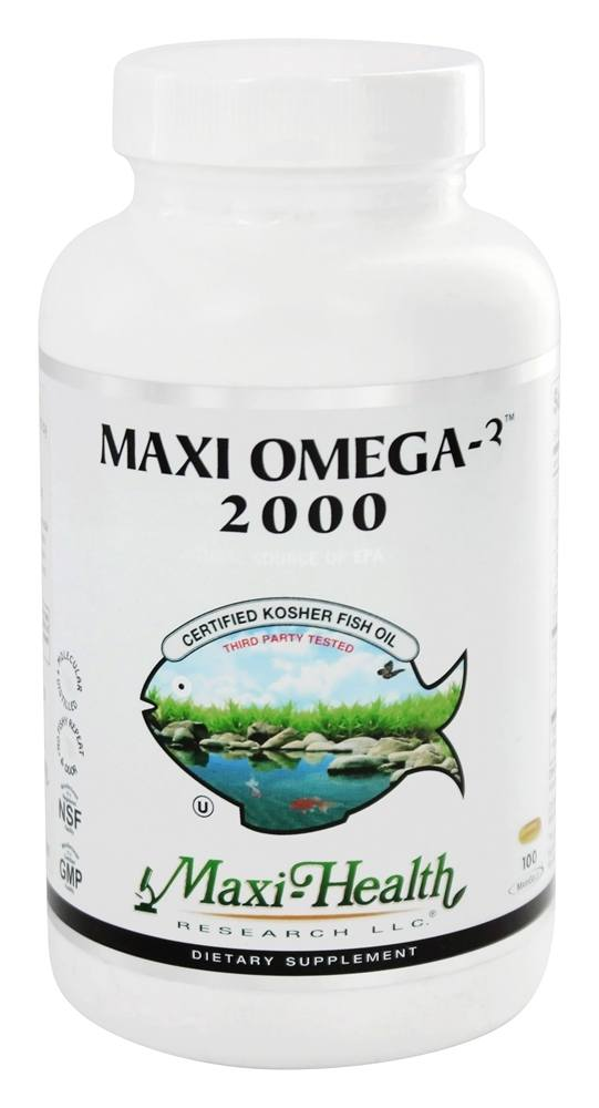 Buy maxi health research kosher vitamins maxi omega 3 for Vegetarian fish oil