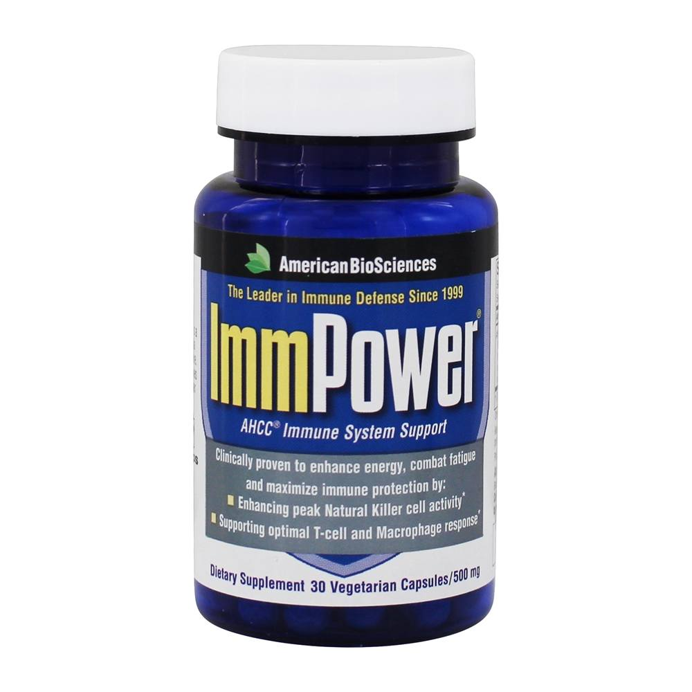 Buy American BioSciences - Immpower AHCC 500 Mg  - 30