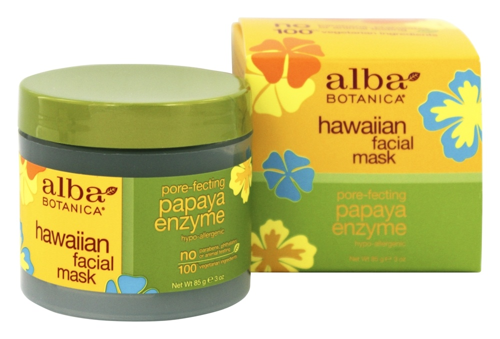 alba botanica, facial mask, papaya enzyme 3 oz angel kiss ice roller for face and body massager puffy eyes reducer soothe acne breakouts,tightens pores, soothes sore muscles, headache, allergies, puffiness, redness - stainless steel-green