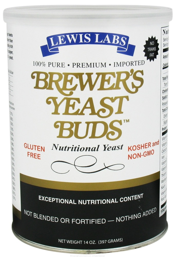 Lewis labs brewers yeast buds