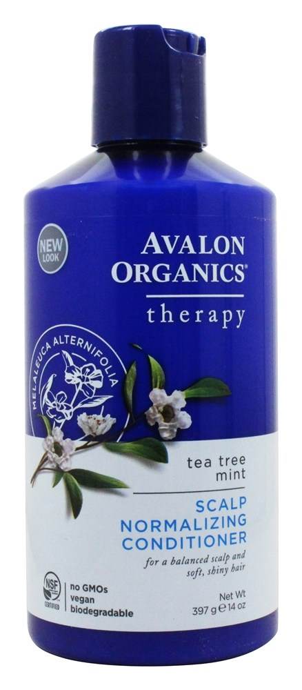 Avalon Organics Shampoo Scalp Normalizing Therapy Tea Tree Mint 14 Fl Oz Formerly Treatment At Luckyvitamin