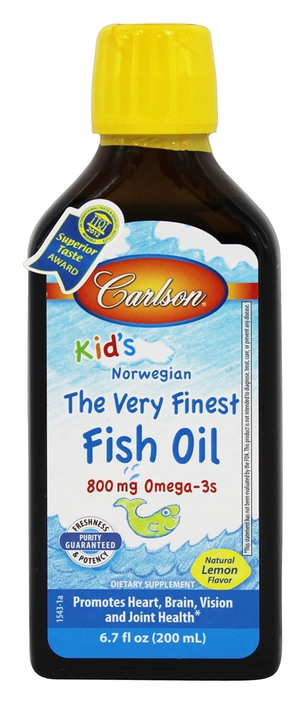 Buy carlson labs for kids the very finest norwegian fish for Dr oz fish oil