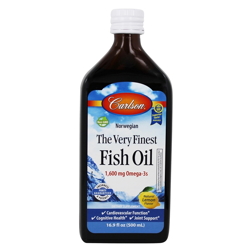 Buy carlson labs the very finest norwegian fish oil for Fish oil liquid
