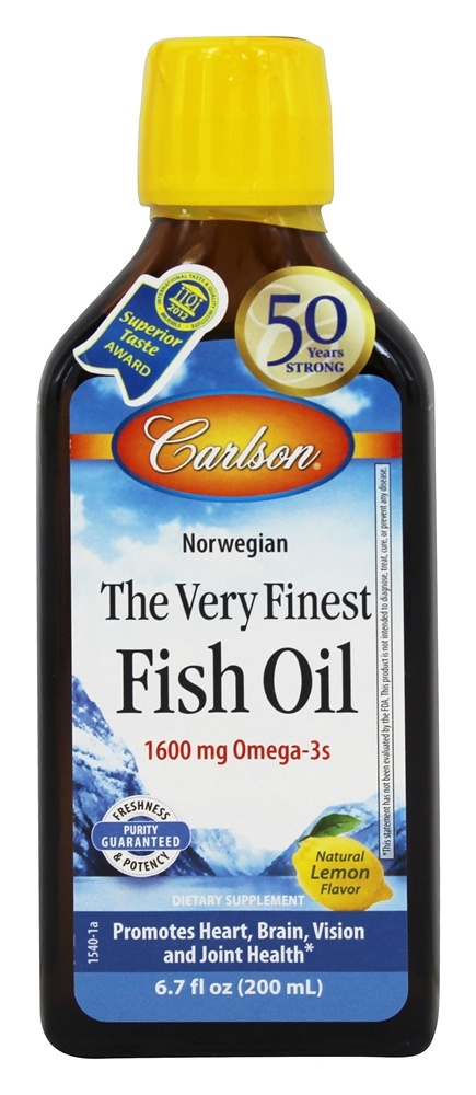 Buy carlson labs the very finest norwegian fish oil for Carlson norwegian fish oil