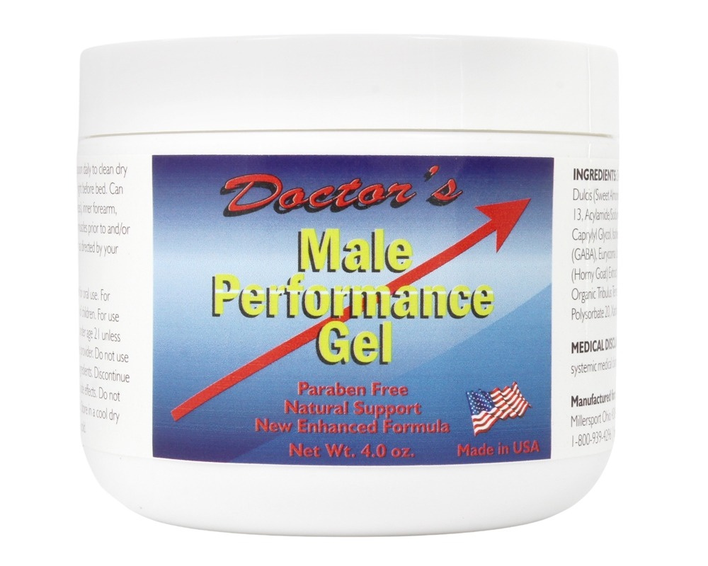 Buy Fountain of Youth Technologies - Doctor's Male Performance Gel - 4 oz. (formerly Doctor's