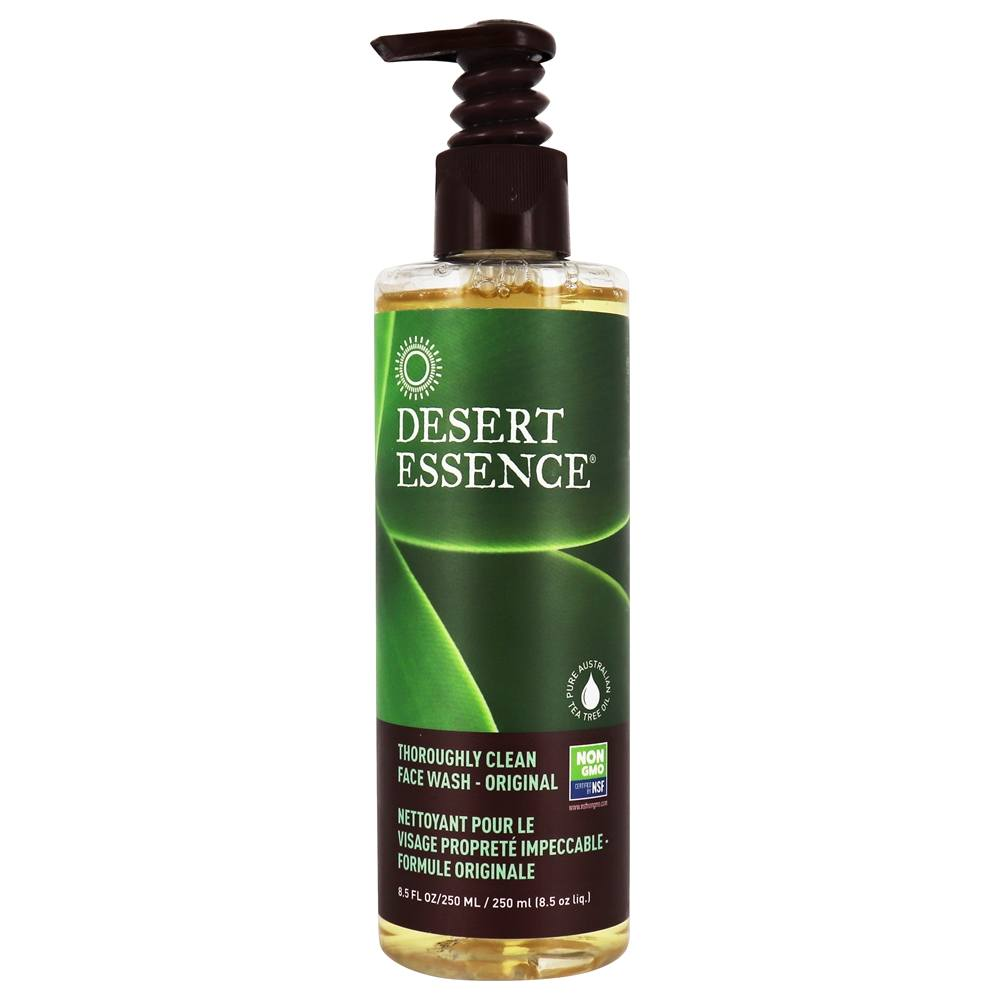 Buy Desert Essence Thoroughly Clean Face Wash Original