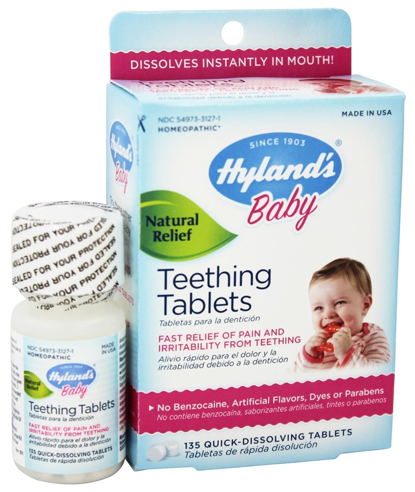 Buy Hylands Teething Tablets 135 Tablets At