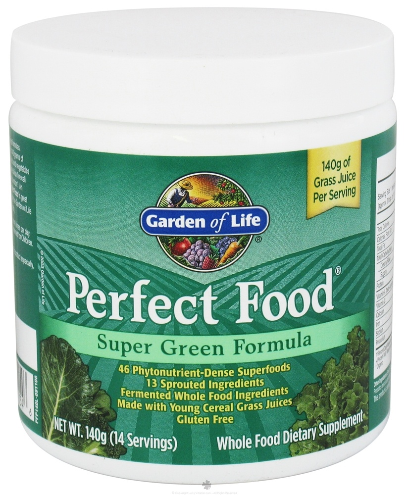 Buy Garden Of Life Perfect Food Super Green Formula Powder Oz At