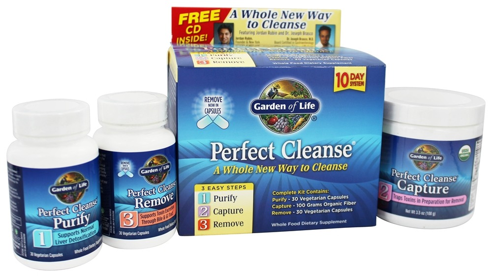 Buy Garden Of Life Perfect Cleanse Kit At