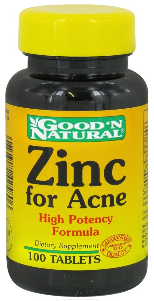 Good N Natural Zinc For Acne Ingredients