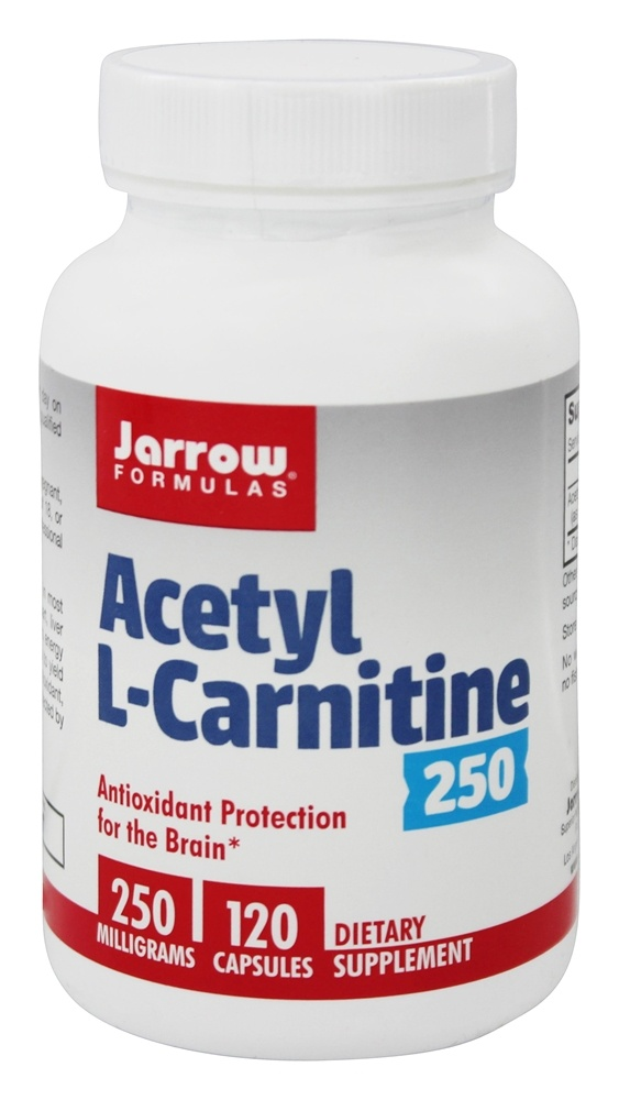 buy jarrow formulas acetyl l carnitine 250 mg 120