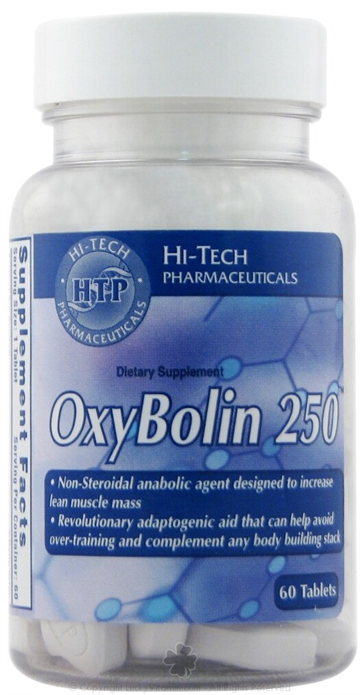 Buy Hi-Tech Pharmaceuticals - OxyBolin 250 - 60 Tablets at