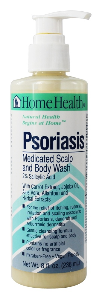 home health psoriasis body wash