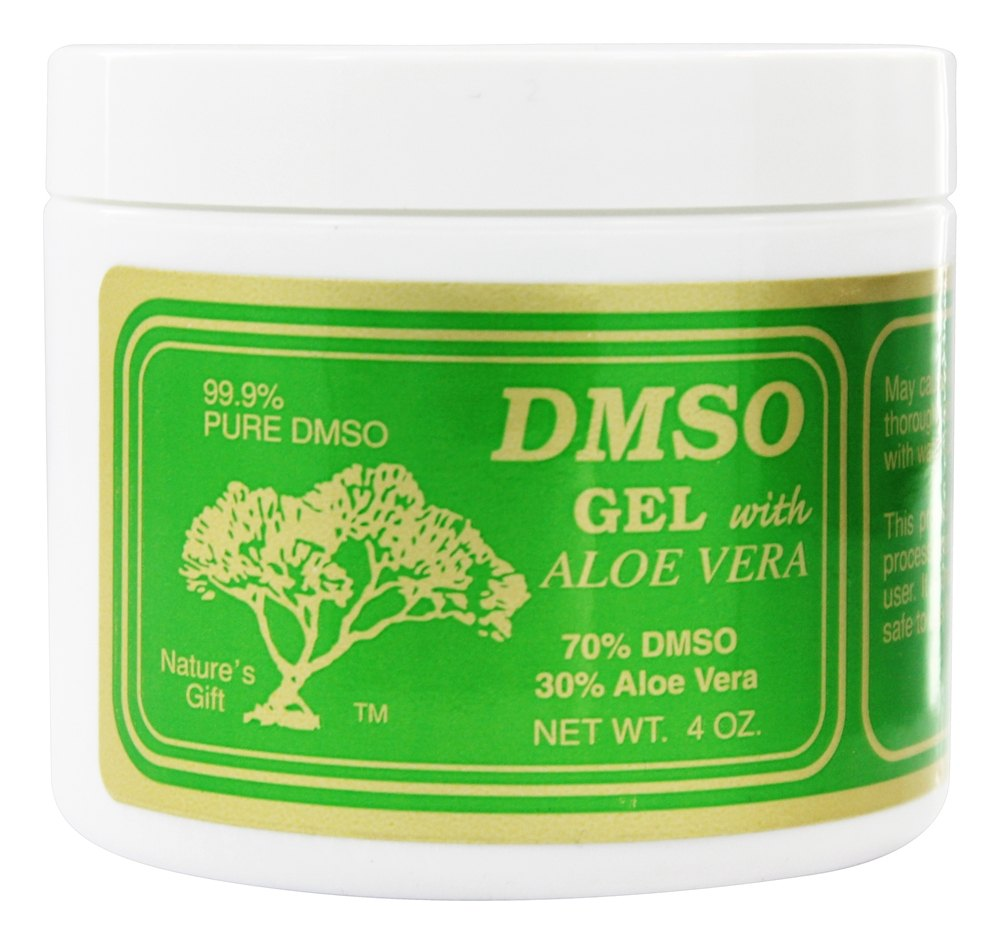 Gel With Aloe Vera - 4 oz Nature's Gift DMSO