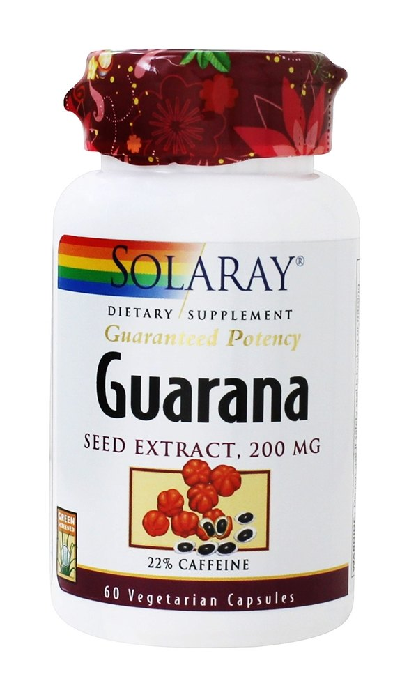 Buy Solaray - Guaranteed Potency Guarana Seed Extract 200 ...