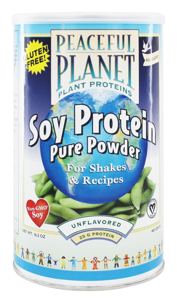 Buy VegLife - Peaceful Planet Soy Protein Powder - 16.2 oz ...