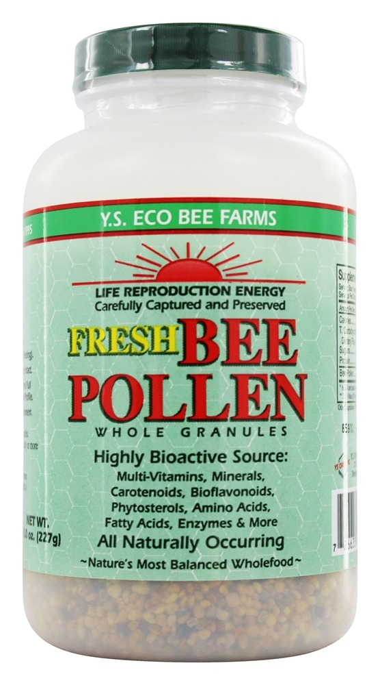 Organic Bee Pollen Whole Foods