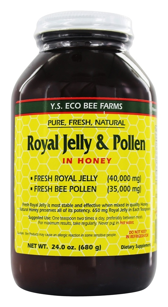 Royal jelly pollen