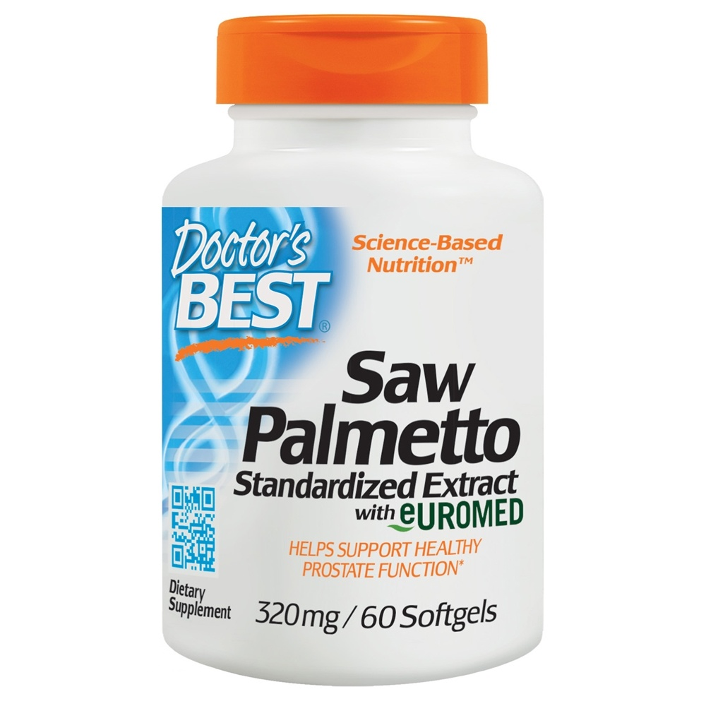 60 Palmetto Creamy White Double Vanity Set: Best Saw Palmetto Extract 320 Mg.