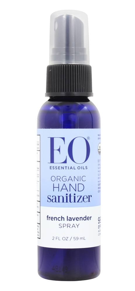 Eo Products Hand Sanitizer Spray Travel Size Organic Lavender