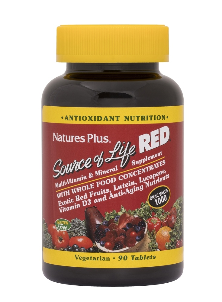 Natures Plus Source Of Life Multi Vitamin Mineral Supplement