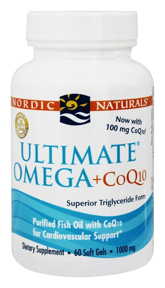 Buy nordic naturals ultimate omega purified fish oil for Coq10 and fish oil