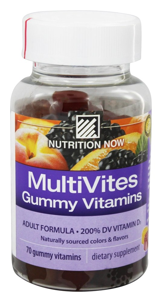 Buy Nutrition Now - Multi Vites Gummy Vitamins for Adults - 70 Gummies at LuckyVitamin.com