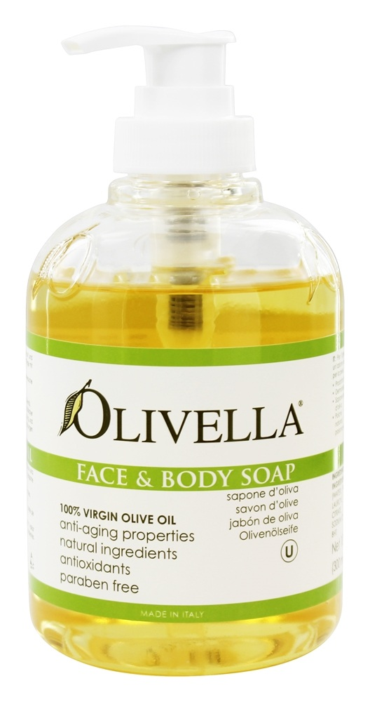 Olive oil on my face