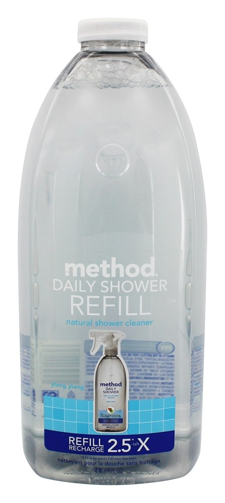 Buy Method   Daily Shower Refill Natural Shower Cleaner Unscented   68 Fl.  Oz. At LuckyVitamin.com