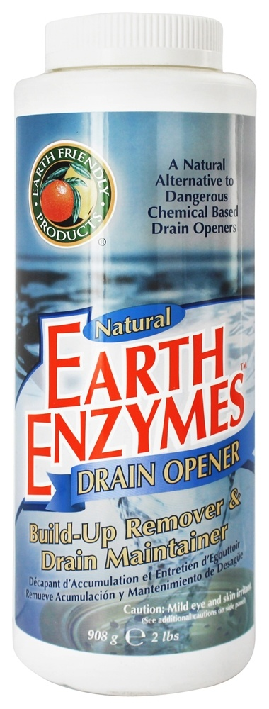 Earth Friendly Products Earth Enzymes Natural Drain Opener
