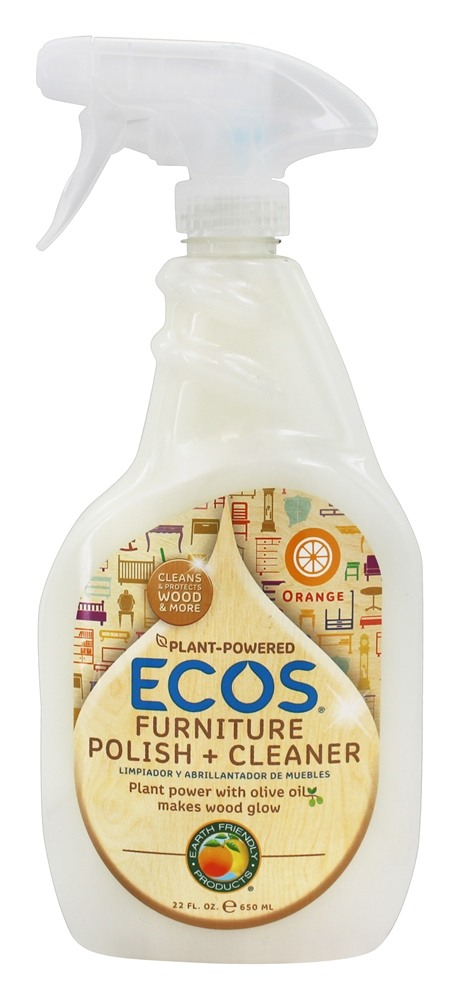 Earth Friendly Ecos Furniture Polish Cleaner Orange 22 Oz At Luckyvitamin