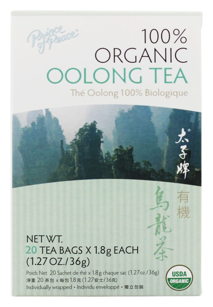 buy prince of peace organic oolong tea 20 tea bags at