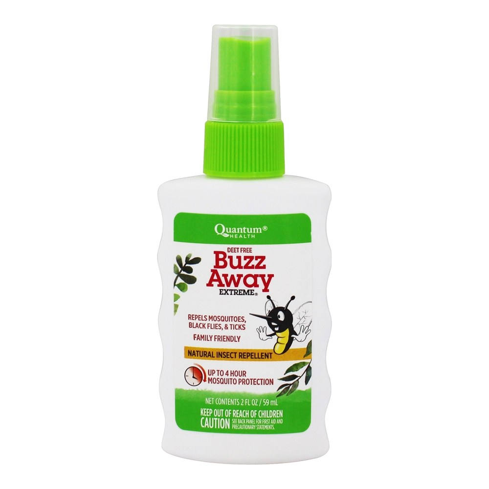 Buy Quantum Health Buzz Away Extreme Natural Deet Free Insect Repellent Spray 2 Fl Oz At Luckyvitamin Com,How To Update Laminate Kitchen Cabinets