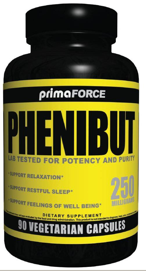 Buy Primaforce - Phenibut Relaxtion Support 250 mg  - 90