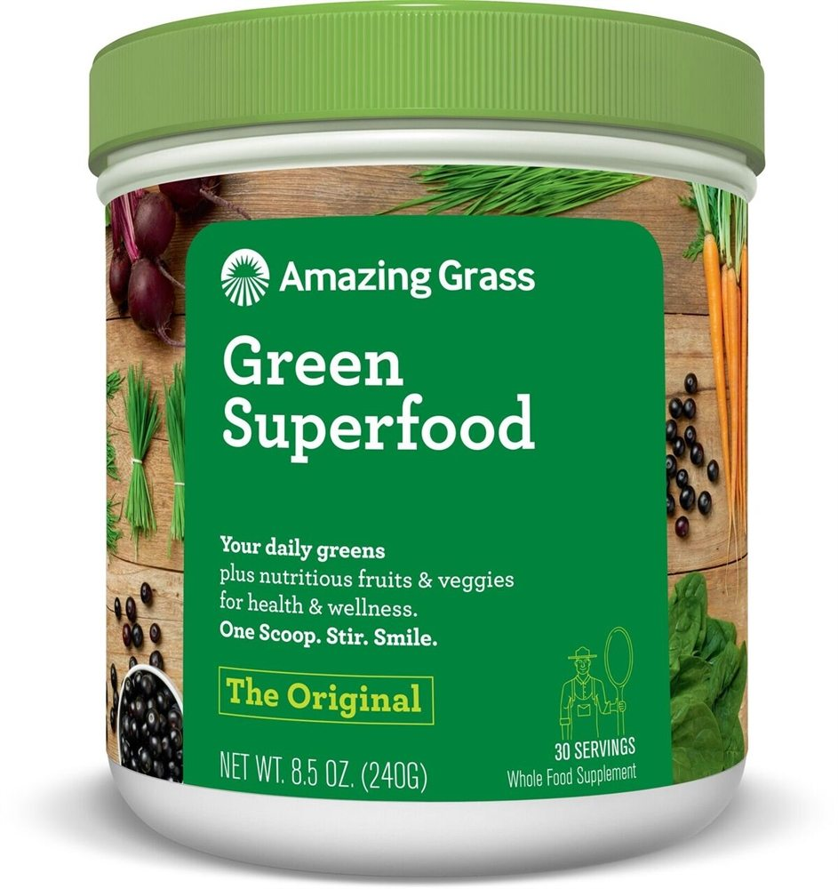 Buy Amazing Grass Green Superfood All Natural Drink