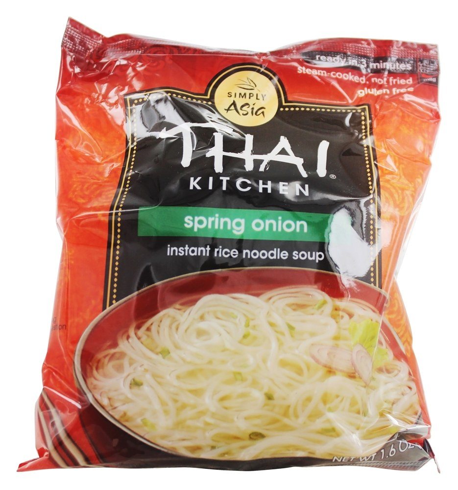 Thai Kitchen Spring Onion Instant Rice Noodle Soup Ingredients