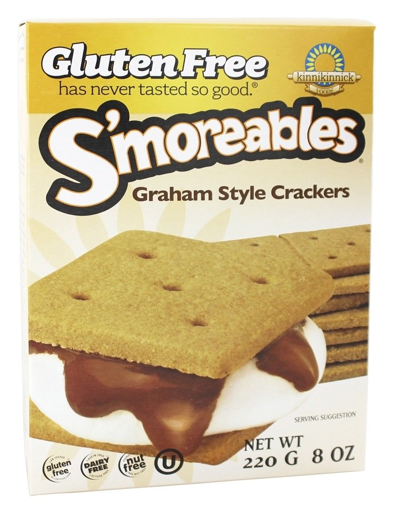S'moreables Graham Style Crackers - 8 oz  by Kinnikinnick Foods