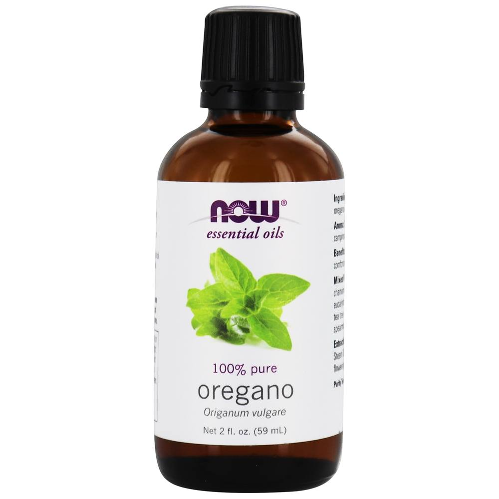 Now Foods  Pure Natural Aromatherapeutic Oregano Oil