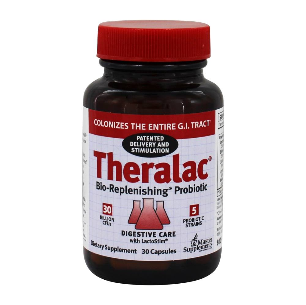 Buy Master Supplements Theralac Probiotic Master