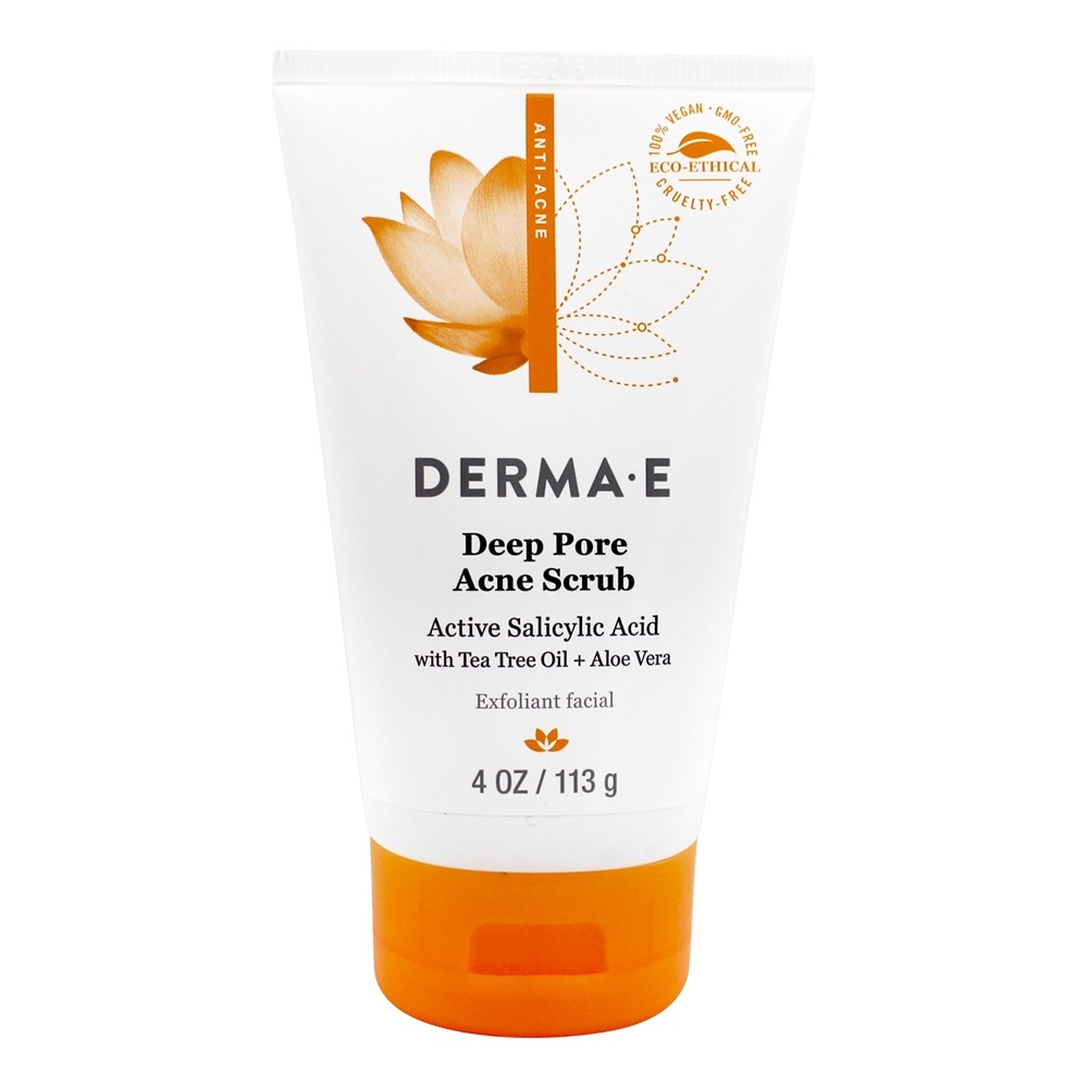 Very Clear Acne Facial Scrub - 4 fl. oz. by DERMA-E (pack of 2) Pyratine XR Crme 1oz