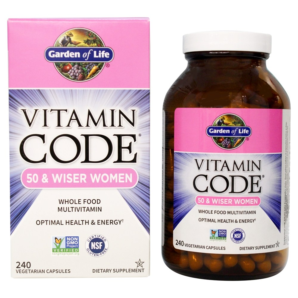 of capsules raw garden life c vegetarian vitamin code
