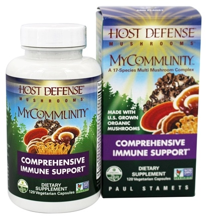 Host Defense - MyCommunity Comprehensive Immune Support - 120 Vegetarian Capsules