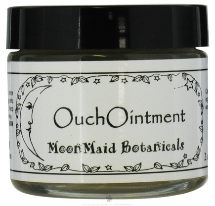 DROPPED: MoonMaid Botanicals - Ouch Ointment - 2 oz. CLEARANCE PRICED