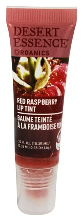 DROPPED: Desert Essence - Organics Lip Tint Red Raspberry - 0.35 oz.